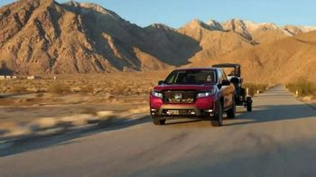 Honda Ridgeline TV Spot, 'In Focus: Rugged Capabilities' [T1] - Thumbnail 4