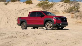Honda Ridgeline TV Spot, 'In Focus: Rugged Capabilities' [T1] - Thumbnail 7