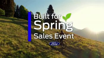 Ford Built for Spring Sales Event TV Spot, 'Your Time to Buy: SUV' [T2] - Thumbnail 1
