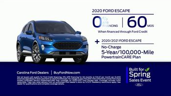 Ford Built for Spring Sales Event TV Spot, 'Your Time to Buy: SUV' [T2] - Thumbnail 9