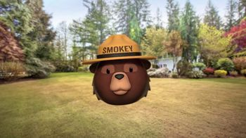 Smokey Bear Campaign TV Spot, 'Al Roker Helps Smokey Bear'