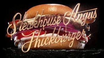 Carl's Jr. Steakhouse Angus Thickburger TV Spot, 'Hunger' - Thumbnail 5