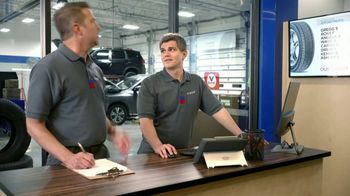 National Tire & Battery TV Spot, 'Two Advisors: No Surprise: $125 Mastercard and $70 Off'