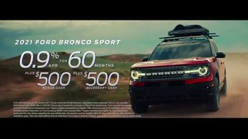 2021 Ford Bronco Sport TV Spot, 'The Future Comes Standard' [T2] - Thumbnail 8