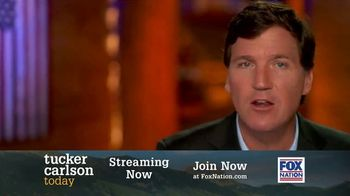 FOX Nation TV Spot, \'Tucker Carlson Today\'