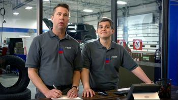 National Tire & Battery (NTB) TV Spot, 'Two Advisors: $125 Prepaid Card Plus Save Up to $70' - Thumbnail 1