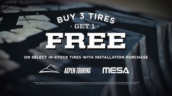 Big O Tires TV Spot, 'Buy Three, Get One Free: Pay Nothing Today' - Thumbnail 4