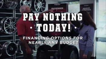 Big O Tires TV Spot, 'Buy Three, Get One Free: Pay Nothing Today' - Thumbnail 9