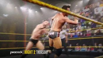 Peacock TV TV Spot, 'NXT Takeover: Stand & Deliver Night 2' - Thumbnail 4