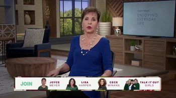 Joyce Meyer Ministries TV Spot, 'Love Life: Girls Night In Conference 2021'
