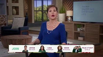 Joyce Meyer Ministries TV Spot, 'Love Life: Girls Night In Conference 2021' - Thumbnail 5