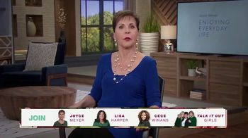 Joyce Meyer Ministries TV Spot, 'Love Life: Girls Night In Conference 2021' - Thumbnail 6