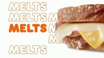 Dunkin' Grilled Cheese Melt TV Spot, 'Melts' - Thumbnail 4