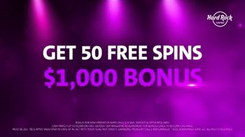 Hard Rock Hotels & Casinos TV Spot, 'Take the Stage: 50 Free Spins' - Thumbnail 10