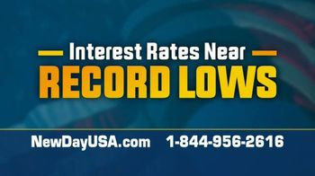 NewDay USA RefiPLUS TV Spot, 'Huge News: Interest Rates Near Record Lows' - Thumbnail 4