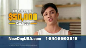 NewDay USA RefiPLUS TV Spot, 'Huge News: Interest Rates Near Record Lows' - Thumbnail 6
