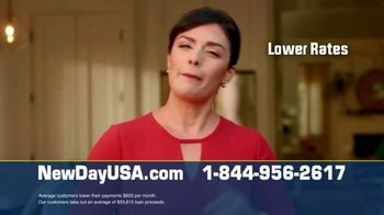 NewDay USA RefiPLUS TV Spot, 'Exciting News: Get Security Today' - Thumbnail 3