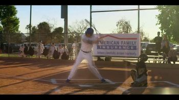 American Family Insurance TV Spot, 'Little League Daydream' Featuring Christian Yelich - Thumbnail 4