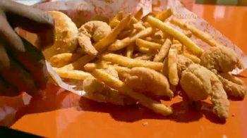 Popeyes Shrimp Tackle Box TV Spot, 'Escuchaste: acompañamiento' [Spanish] - Thumbnail 2