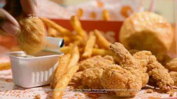 Popeyes Shrimp Tackle Box TV Spot, 'Escuchaste: acompañamiento' [Spanish] - Thumbnail 3