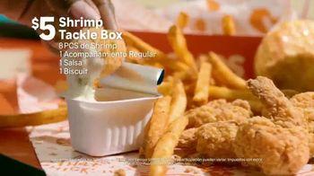 Popeyes Shrimp Tackle Box TV Spot, 'Escuchaste: acompañamiento' [Spanish] - Thumbnail 4