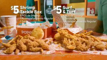 Popeyes Shrimp Tackle Box TV Spot, 'Escuchaste: acompañamiento' [Spanish] - Thumbnail 5