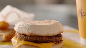 McDonald's $1 $2 $3 Dollar Menu TV Spot, 'Face the Day With Breakfast: Sausage Biscuit' - Thumbnail 5