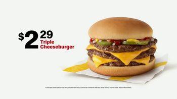 McDonald's TV Spot, 'Team Player: Triple Cheeseburger' - Thumbnail 8