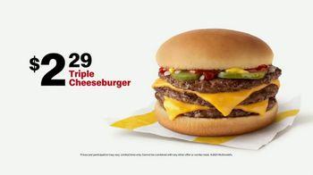 McDonald's TV Spot, 'Team Player: Triple Cheeseburger' - Thumbnail 9