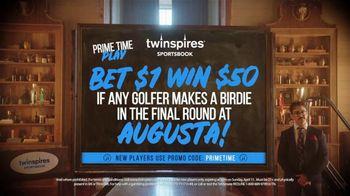 Twinspires Sportsbook TV Spot, 'Bet $1 Win $50: Augusta Final Round' Featuring Brett Favre - Thumbnail 3