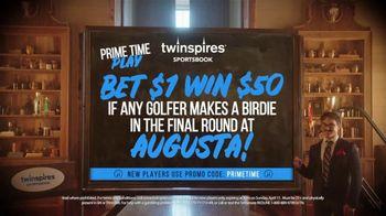 Twinspires Sportsbook TV Spot, 'Bet $1 Win $50: Augusta Final Round' Featuring Brett Favre - Thumbnail 5
