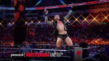 Peacock TV TV Spot, 'Live: Wrestlemania, Monday Night Raw, NXT' - Thumbnail 2