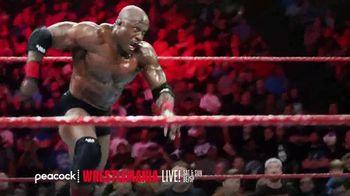 Peacock TV TV Spot, 'Live: Wrestlemania, Monday Night Raw, NXT' - Thumbnail 3