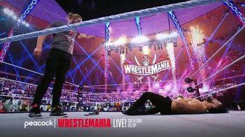 Peacock TV TV Spot, 'Live: Wrestlemania, Monday Night Raw, NXT' - Thumbnail 4