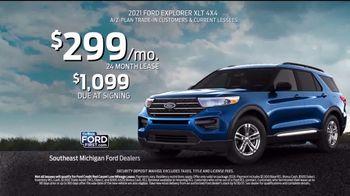 2021 Ford Explorer TV Spot, 'SUV of the Future: Explorer: Outdoors' [T2] - Thumbnail 6
