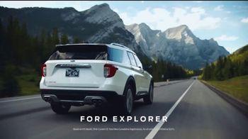 2021 Ford Explorer TV Spot, 'SUV of the Future: Explorer: Outdoors' [T2] - Thumbnail 1