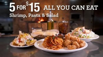 Johnny Carino's Italian 5 for $15 TV Spot, 'All You Can Eat'