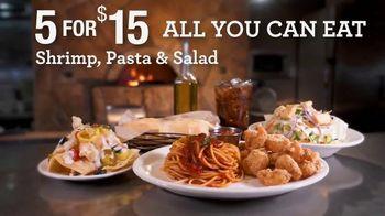Johnny Carino's Italian 5 for $15 TV Spot, 'All You Can Eat' - Thumbnail 3