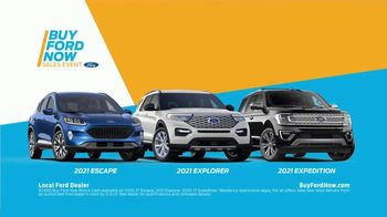 Buy Ford Now Sales Event TV Spot, 'Top Reasons: SUVs' [T2] - Thumbnail 7