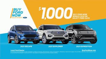 Buy Ford Now Sales Event TV Spot, 'Top Reasons: SUVs' [T2] - Thumbnail 9