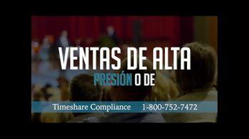 Timeshare Compliance TV Spot, 'Agente de ventas deshonesto' [Spanish]