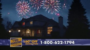 1-800-HANSONS TV Spot, '4th of July: Two Weeks Only' - Thumbnail 4