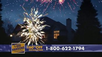 1-800-HANSONS TV Spot, '4th of July: Two Weeks Only' - Thumbnail 5