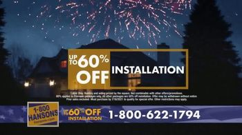 1-800-HANSONS TV Spot, '4th of July: Two Weeks Only' - Thumbnail 6
