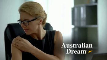Australian Dream Arthritis Pain Relief Cream TV Spot, 'Effective Relief: Business Woman'