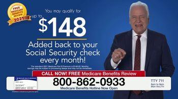 Medicare Benefits Hotline TV Spot, 'Attention: Free Medicare Benefits Review'