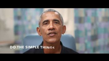 COVID Collaborative TV Spot, 'It's Up to You' Featuring Barak Obama and Bill Clinton - 2 commercial airings