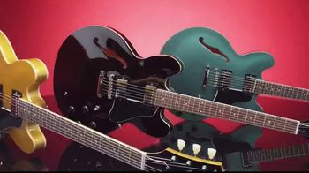 Guitar Center 4th of July Event TV Spot, '40% Off Select Gear in Every Department'