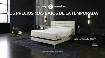 Sleep Number Los Precios Más Bajos de la Temporada TV Spot, 'Ahora solo $899 dólares'  [Spanish]
