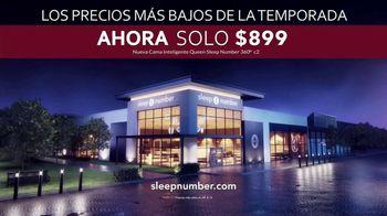 Sleep Number Los Precios Más Bajos de la Temporada TV Spot, 'Ahora solo $899 dólares'  [Spanish] - Thumbnail 7